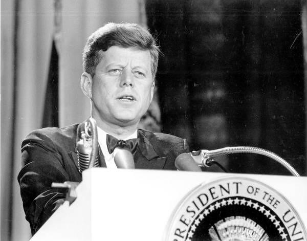 presidentti John F. Kennedy