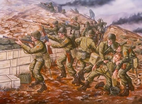 Pork Chop -kukkalan taistelu oli osa Korean sotaa.
