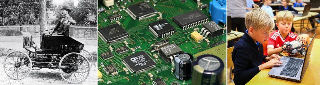 Teknologinen kehitys on ollut viime aikoina nopeaa.
