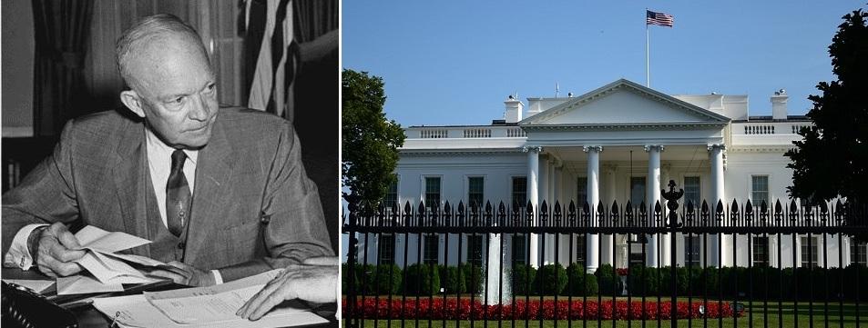 Philip J. Corso palveli Valkoisessa talossa vuosina 1953 - 1957 presidentti Dwight D. Eisenhowerin neuvonantajana osallistuen mm. kansallisen turvallisuuden neuvoston toimintaaan.