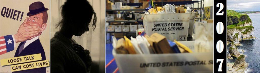 Yhdysvaltain postilaitos.