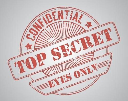 Huippusalaista merkki, Top Secret