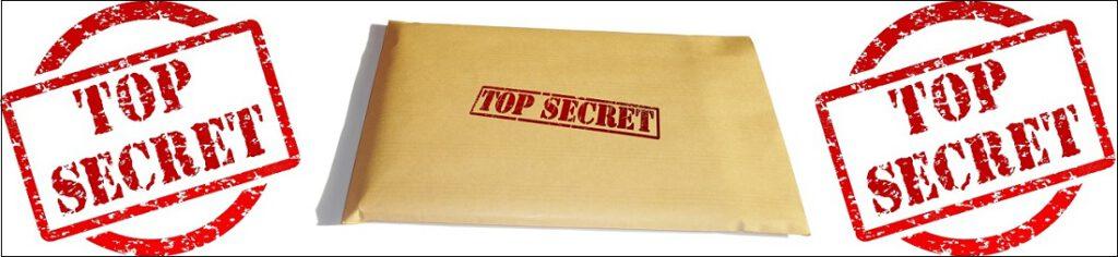 Huippusalaista (TOP SECRET) materiaalia. Lawrence R. Spencer otti postitse vastaan avaruusolennon kuulustelupöytäkirjat.
