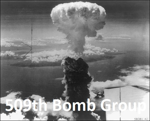 509. pommitusryhmä ja Nagasakin atomipommitus.