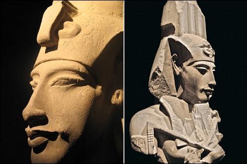 Patsaita: faarao Akhenaton, Ekhnaton, Amenhotep IV.