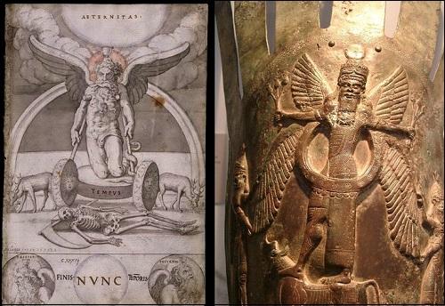 Sumerilainen ylijumala Anu (tai An).