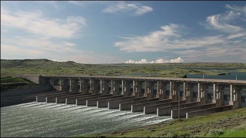Fort Peck -pato Yhdysvalloissa Montanan osavaltiossa.