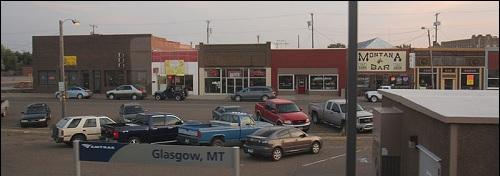 Glasgow-niminen kaupunki Yhdysvalloissa Montanan osavaltiossa.