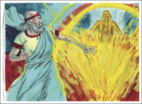 Israelin profeetta Hesekiel.