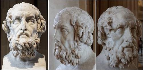 Homeroksen patsas