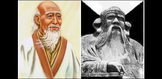 "Kiinalainen filosofi ""vanha mestari"" Laozi eli Laotse."