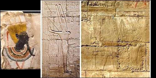 Mainaisessa Egyptissä palvottu hedelmällisyyden jumala Min.