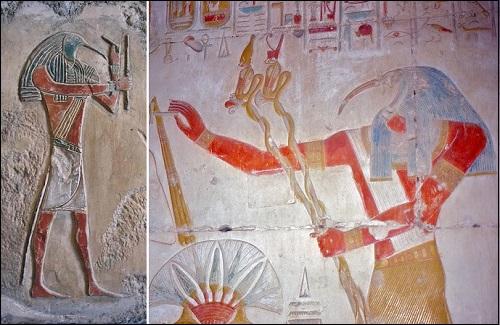 Egyptiläinen jumala Thot.
