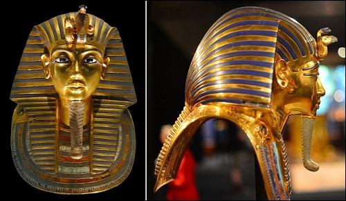Faarao Tutankhamonin patsas.