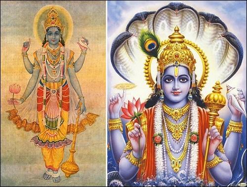 Vishnu eli Narayana. Mikä tai kuka oli Vishnu? Se saa selityksen kirjassa Roswellin avaruusolennon haastattelu.