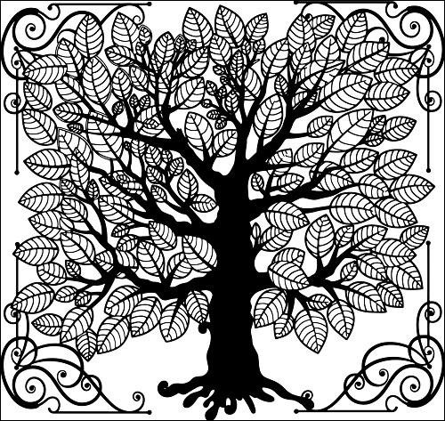 elämänpuu, tree of life
