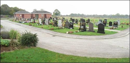 Saint Finianin hautausmaa Athboy Road -kadulla Irlannissa kaupungissa nimeltä Navan.