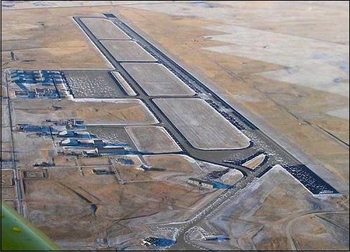 Glasgowin lentotukikohta Yhdysvalloissa Montanan osavaltiossa.