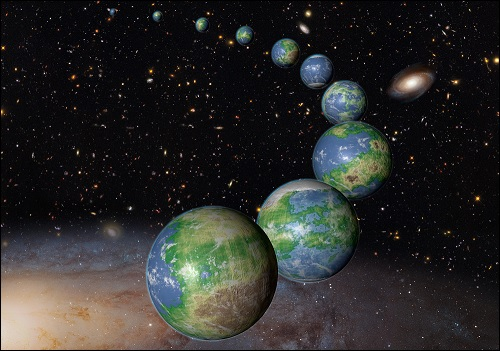 Maankaltainen planeetta.