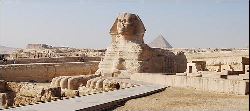 Gizan sfinksi.
