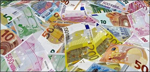 euron seteleitä