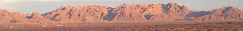 Organvuoret, New Mexico, Yhdysvallat.