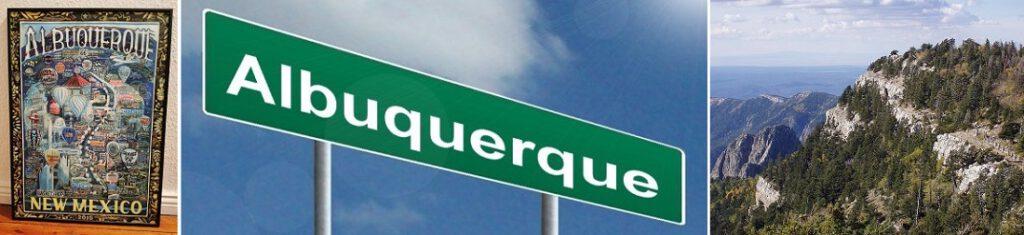 New Mexico, Albuquerquen kaupunki sijaitsee New Mexicon osavaltiossa.