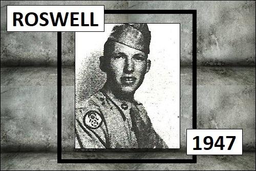 Roswellin tapauksen silminnäkijä.